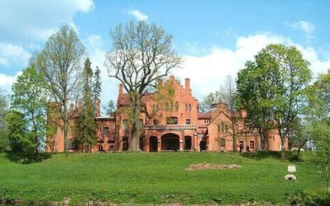 Sangaste Castle.