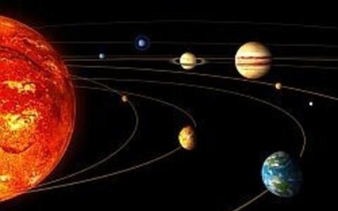 Päikesesüsteem.