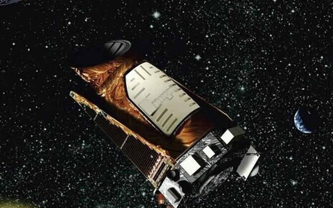 Kepler kosmoses, kunstniku kujutuses.