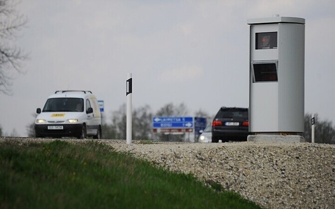 Speed camera in Estonia. Photo is illustrative.