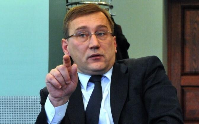 Министр экономики Юхан Партс.