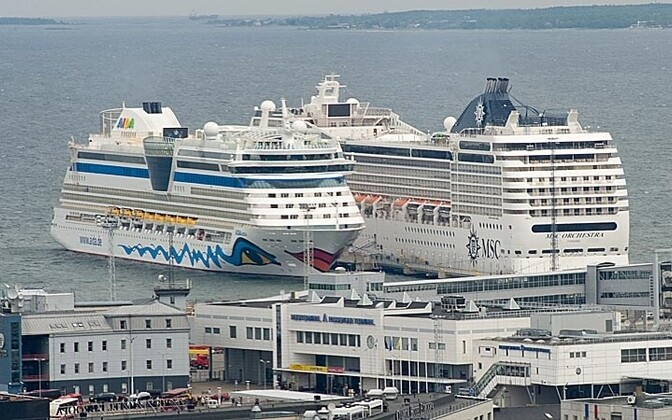 Cruise Ships Continue Dumping Sewage Into The Baltic News ERR - Cruise ship sewage