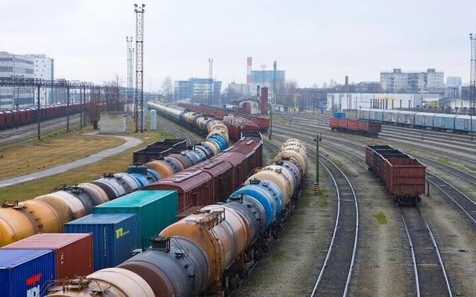 Железнодорожная станция Юлемисте.