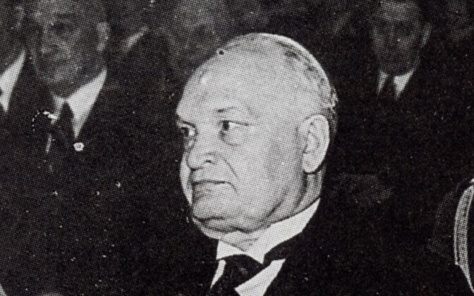 President of the Republic of Estonia Konstantin Päts, 1938