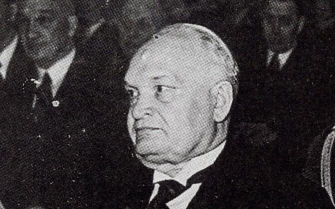 President of the Republic of Estonia Konstantin Päts, 1938