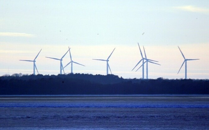 Wind turbines (picture is illustrative)