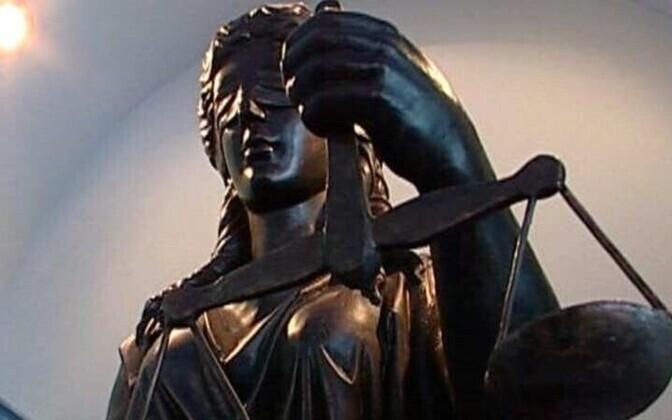Статуя Фемиды - богиня правосудия