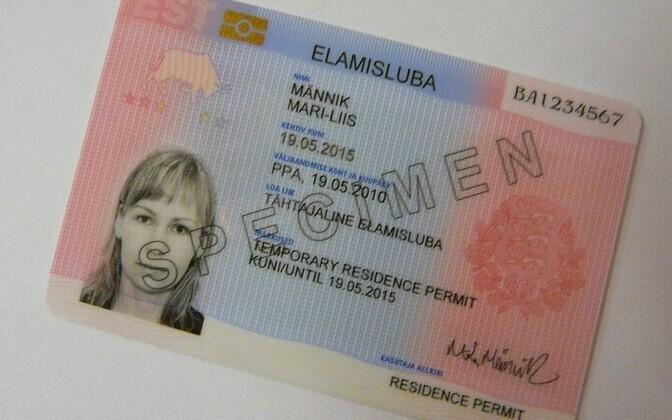 Разрешение на пребывание в финляндии фото