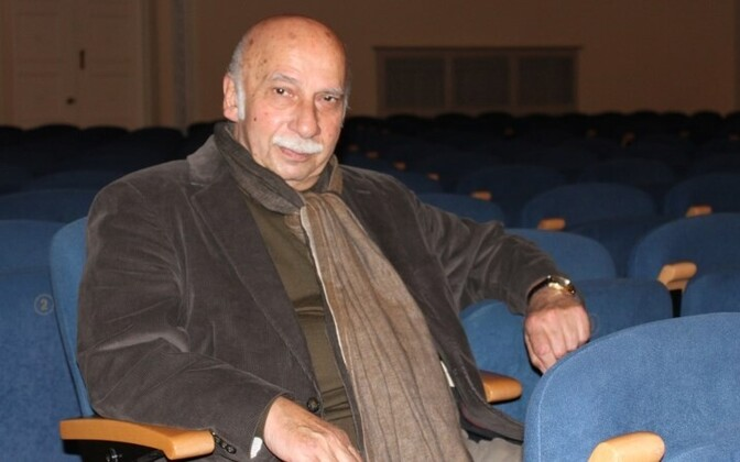 Композитор Гия Канчели, чье творчество известно многим по фильмам Данелии.
