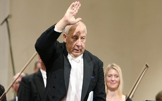 Neeme Järvi with the Estonian National Symphony Orchestra (ERSO)