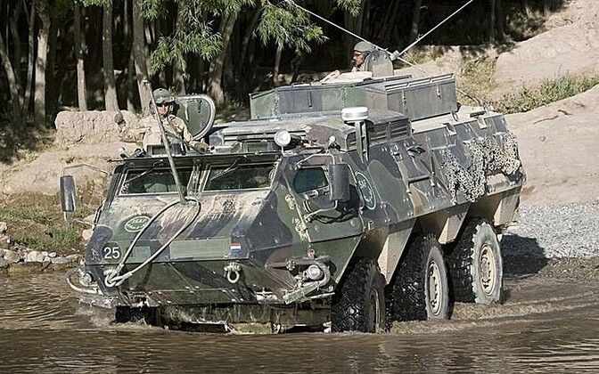 Sisu XA-188 Armored Personnel Carrier