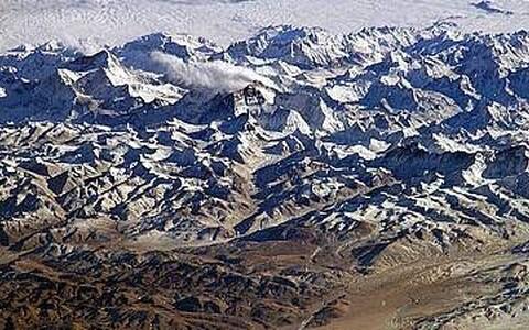 Himaalaja mäestik.