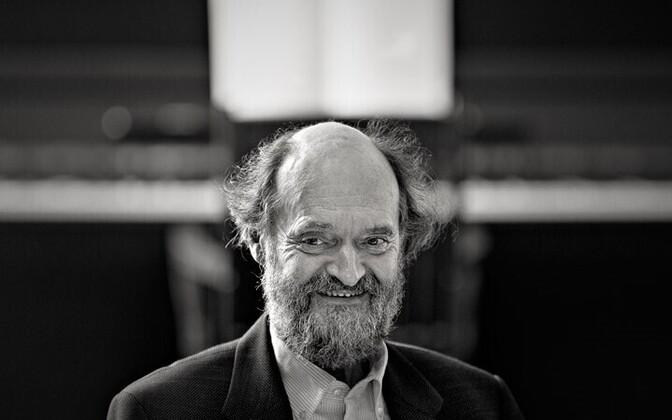 Composer Arvo Pärt photographed by Kaupo Kikkas, June 2010, Laulasmaa.
