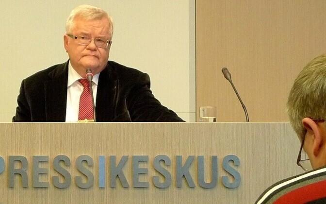 Mayor of Tallinn Edgar Savisaar