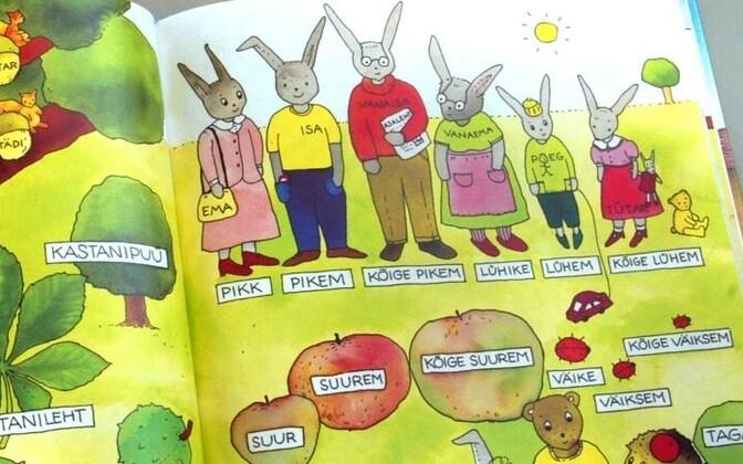 Estonian-language learning materials