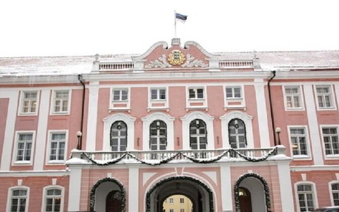 Здание Рийгикогу (Парламента Эстонии).