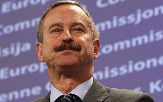 European Commissioner for Transport Siim Kallas