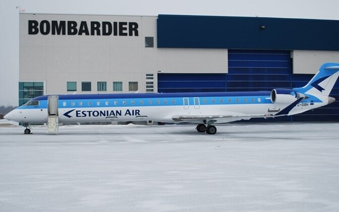 Estonian Air's CRJ900 NextGen