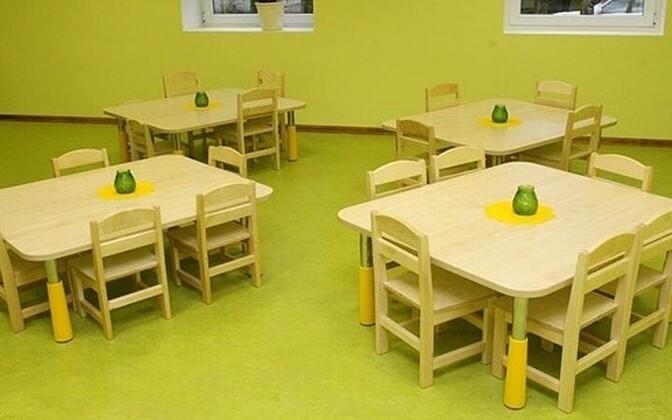 Lasteaed. Pildil ei ole Narva lasteaed.