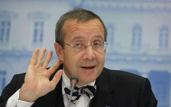 Бывший президент Эстонии Тоомас Хендрик Ильвес.