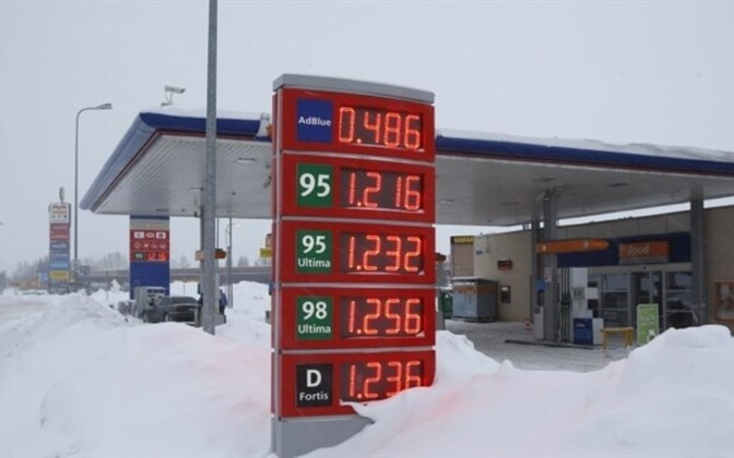 The good old days of early January, when fuel was cheaper.