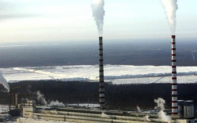 Eesti Energia's power plant near Narva