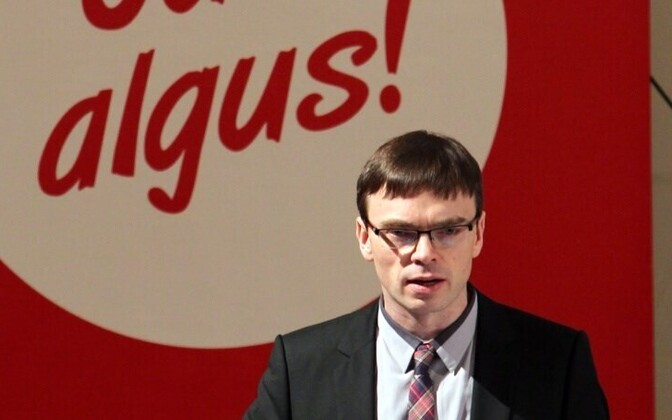 Chairman of the Social Democratic Party Sven Mikser