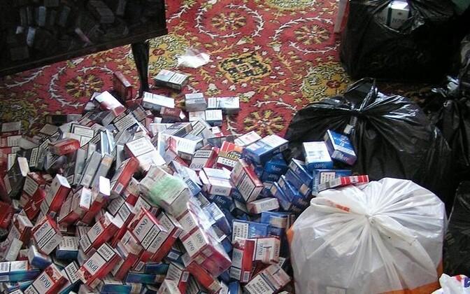 Контрабандные сигареты