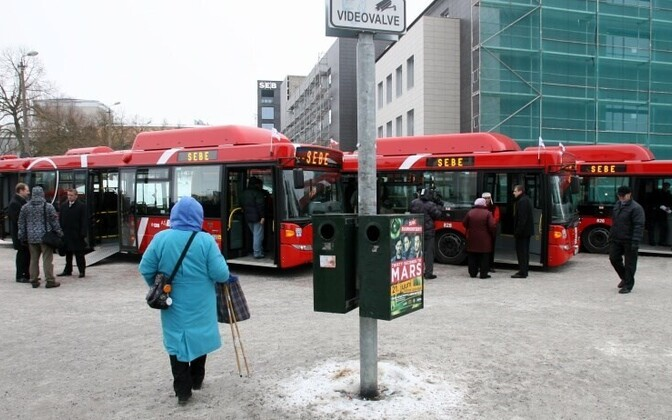 A number of buses in Tartu already run on gas, but not yet locally-produced methane