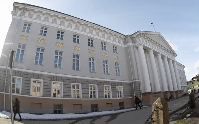 The main building of Tartu University.