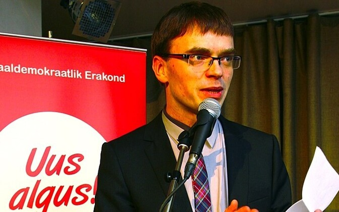 Sven Mikser, chairman of the Social Dems