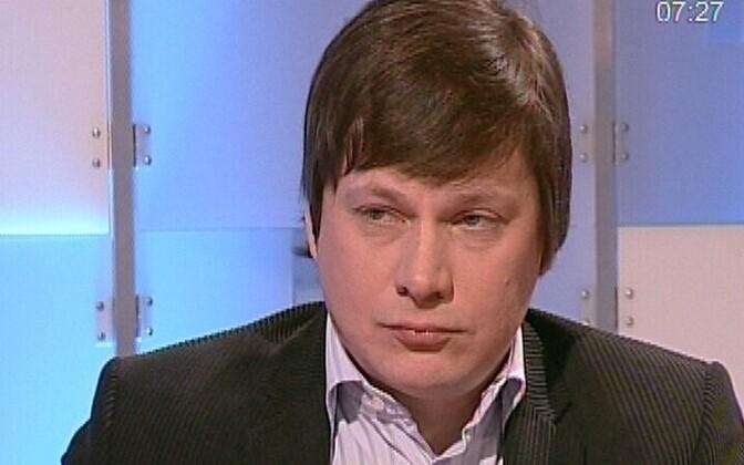 Aivar Hundimägi, the editor of Äripäev's investigative reporting desk