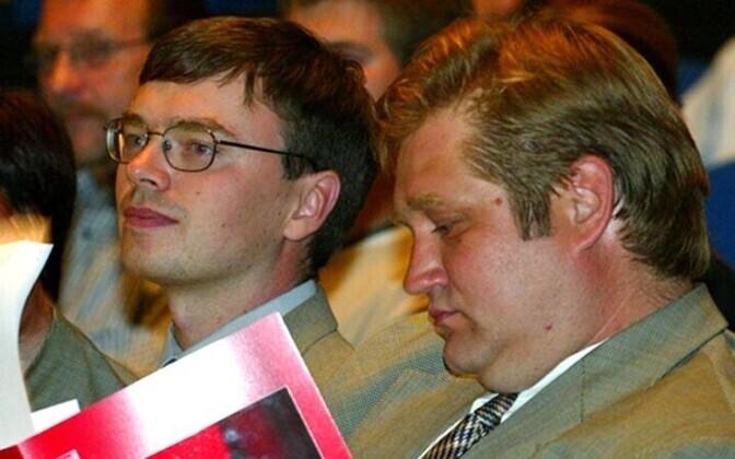Sven Mikser (left) and Ivari Padar (right)