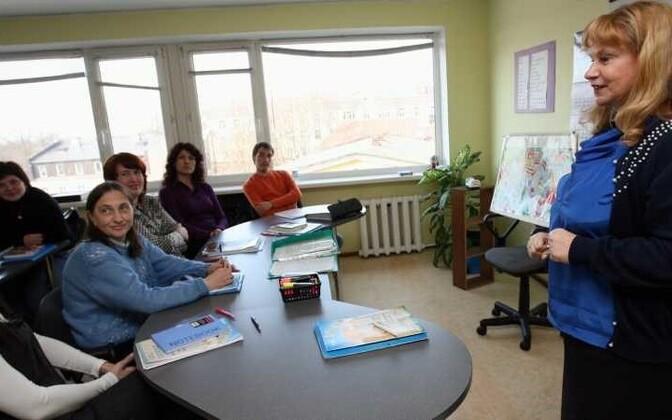 Курсы эстонского языка для взрослых