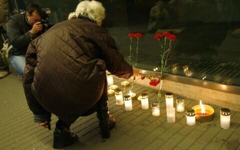 На месте гибели Дмитрия Ганина