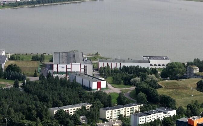Tallinna Vee veepuhastusjaam Ülemiste järve ääres.