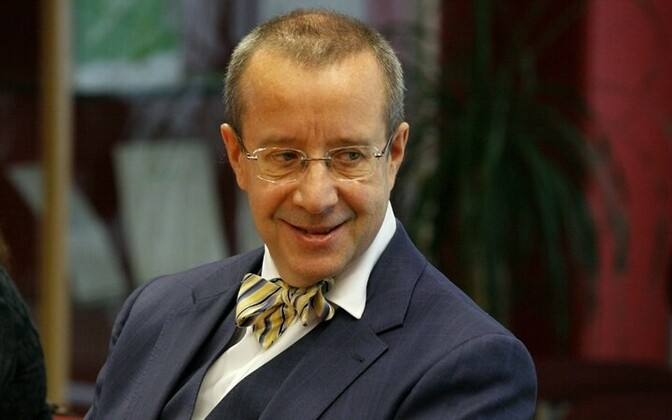Президент Эстонии Тоомас Хендрик Ильвес