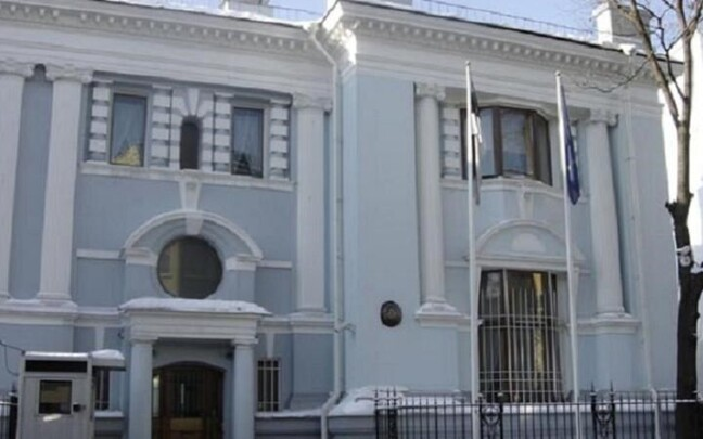 Посольство Эстонии в Москве.