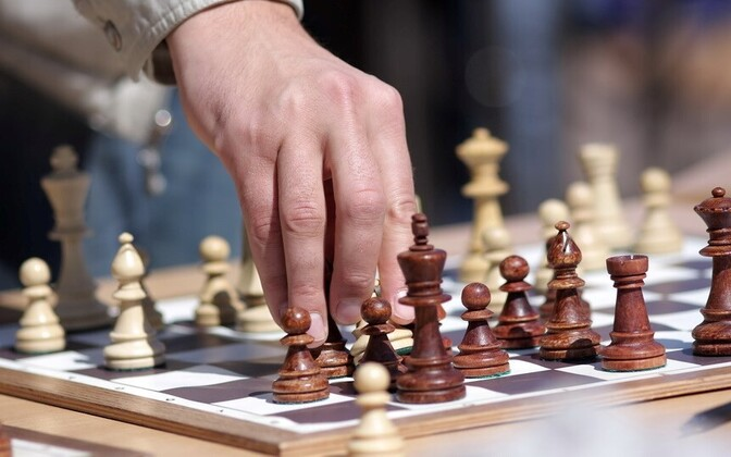 Chess is one of the games played at the Mind Sports Olympiad