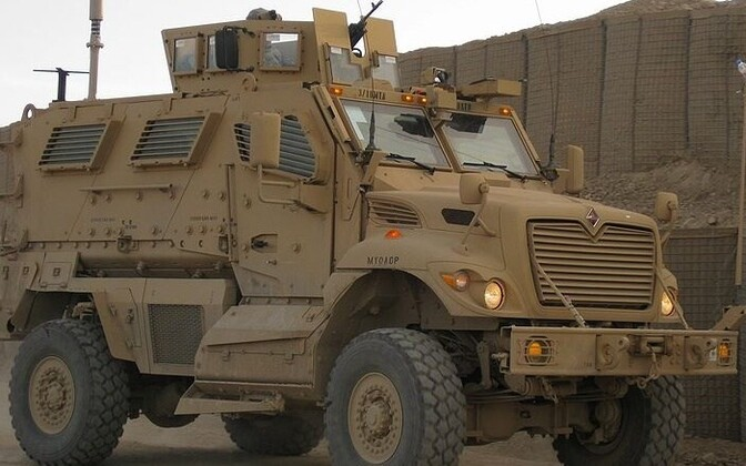 The International MaxxPro armored personnel carrier