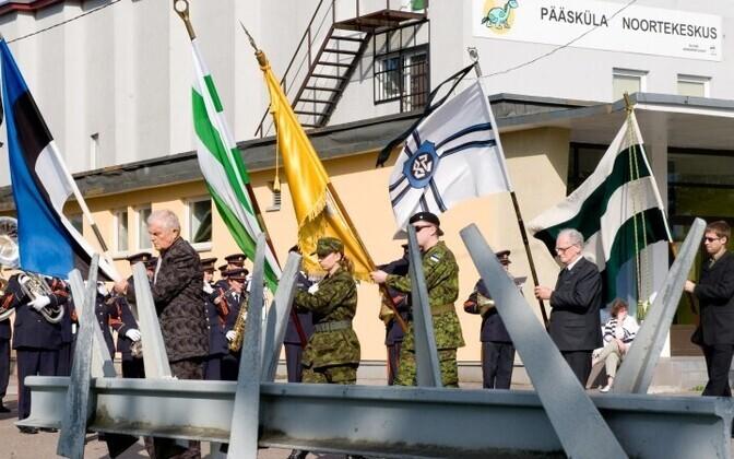 В память о массовой депортации на многих железнодорожных станциях Эстонии установлены мемориальные доски.