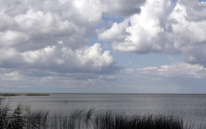 Lake Peipus.