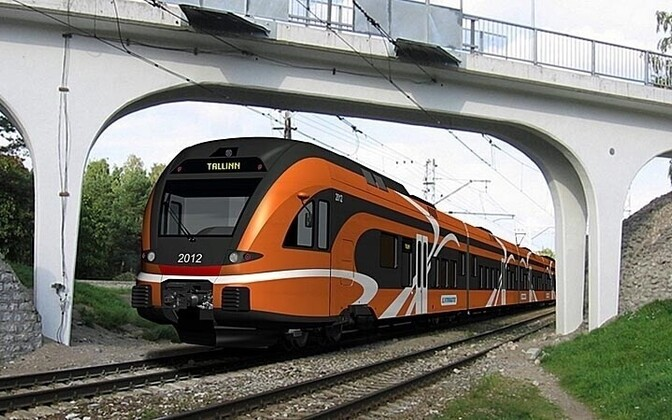 New trains to arrive on Estonian railroads in 2012 will be part of revamping the service