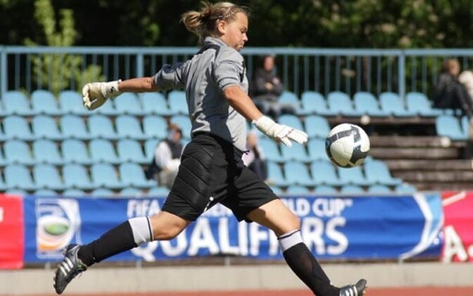 Elis Meetua, Eesti naiste jalgpallikoondis