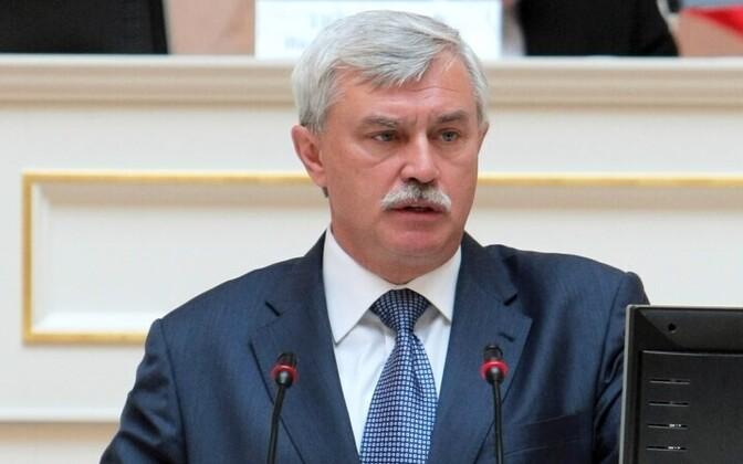 Губернатор Санкт-Петербурга Георгий Полтавченко.