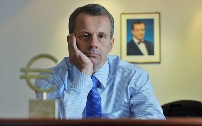 Министр финансов Юрген Лиги