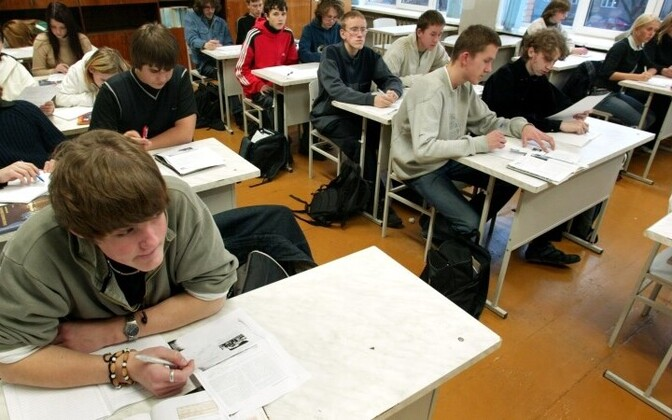 Students in a classroom. Photo is illustrative.