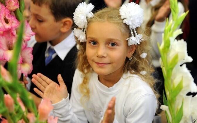 По данным регистра населения, к сентябрю этого года школьного возраста достигнет 4841 таллиннский ребенок.