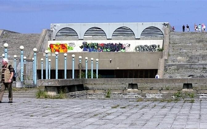 The Linnahall in Tallinn