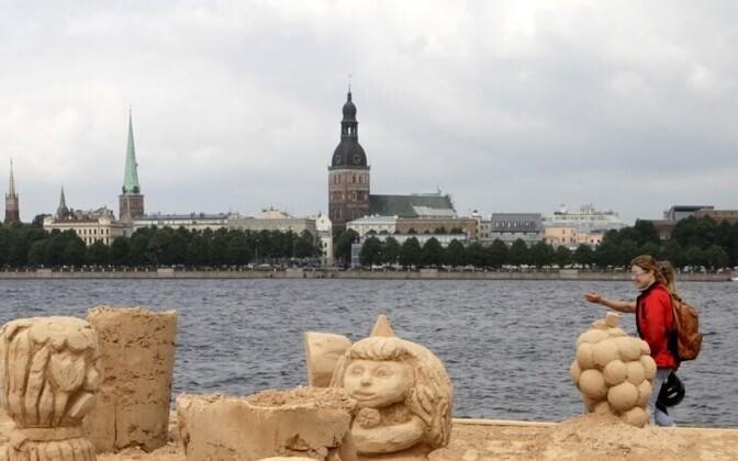 Riga, the capital of Latvia